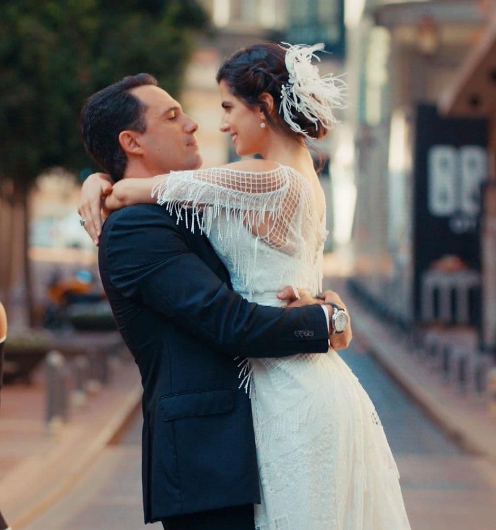 فستان زفاف كارمن بصيبص وظافر