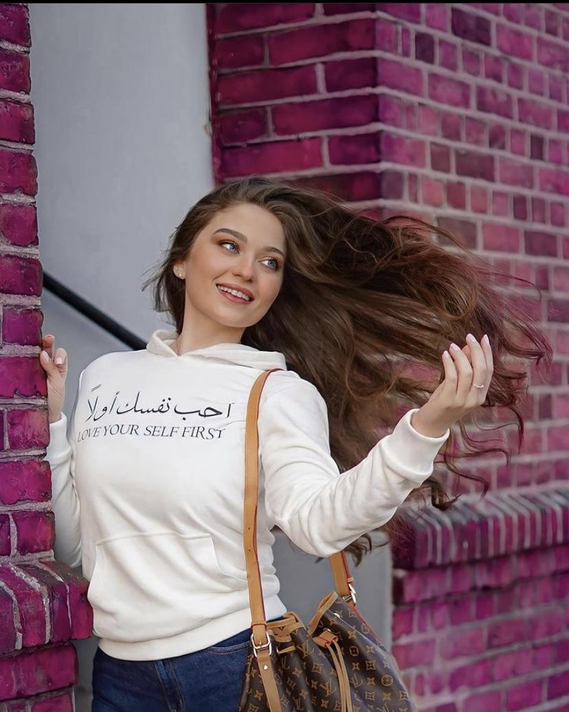 بلوزة احب نفسك اولا عربي