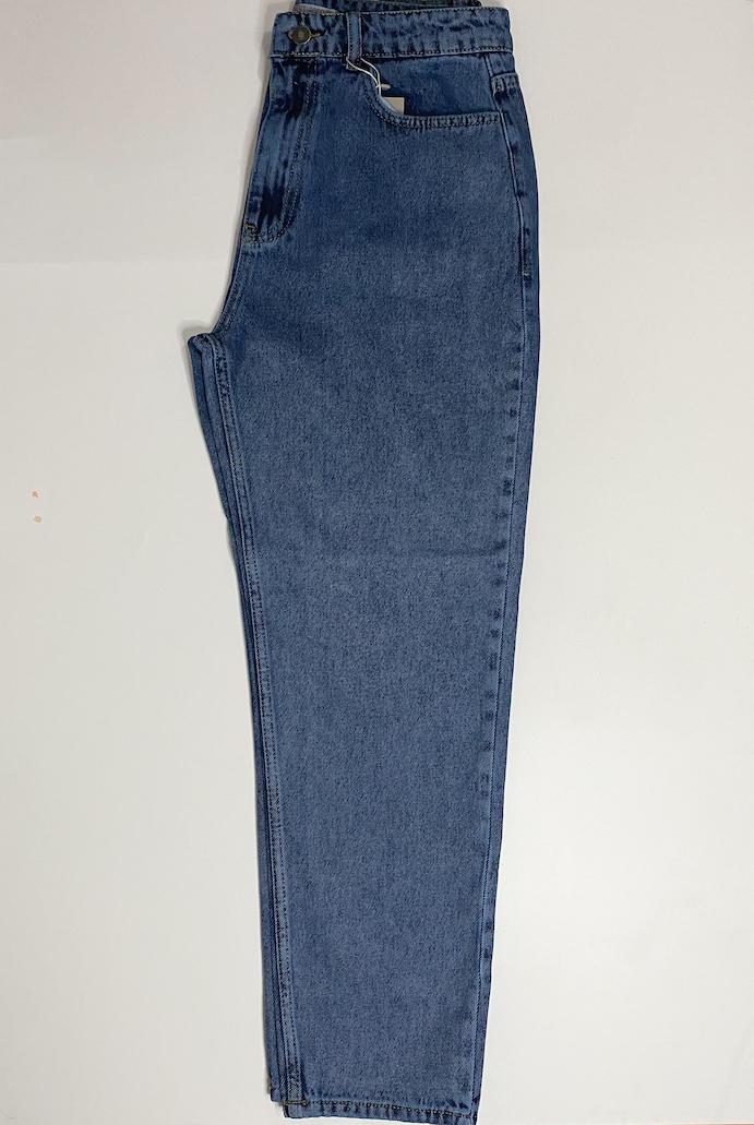 بنطلون جينز خصر عالي