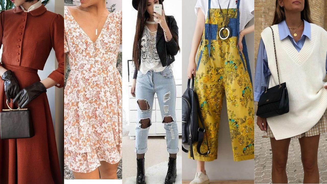 أنواع ستايلات الملابس