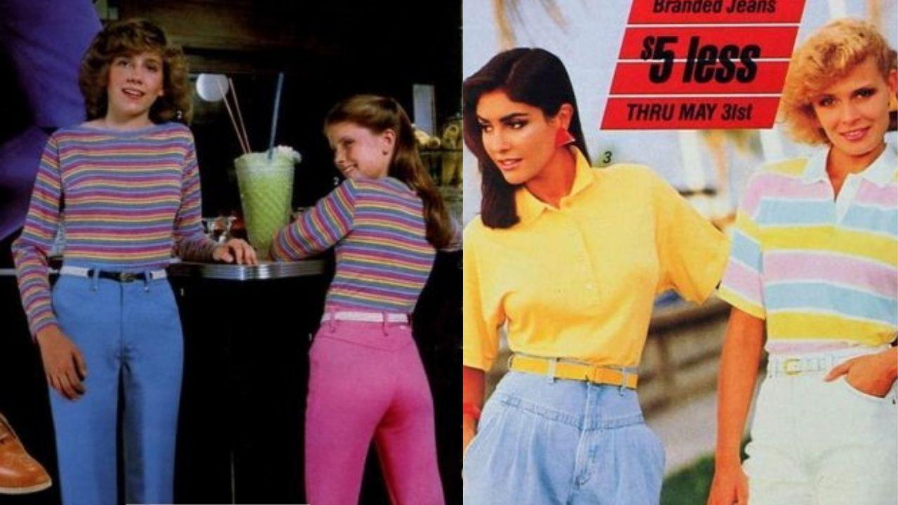 أزياء الثمانينات