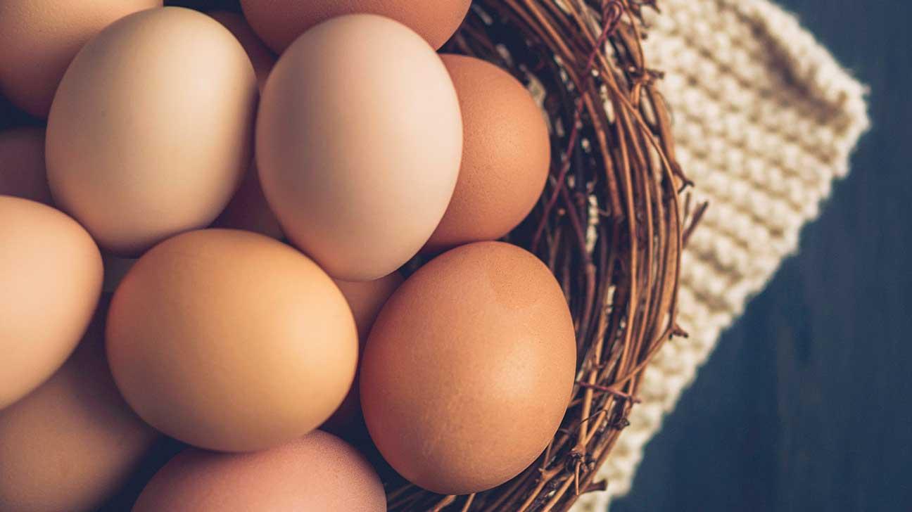 البيض، وجبات خفيفة للدايت