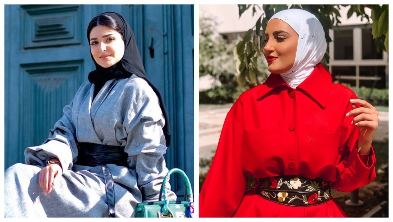تنسيق لون الحجاب